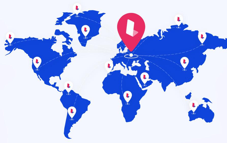 Launchese World Map
